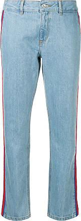 être cécile rib low rise slouch jeans - Blue
