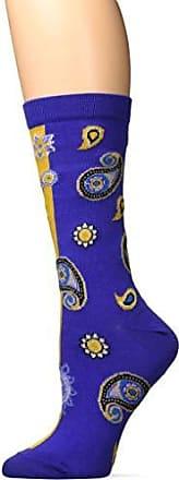 Ozone Womens Paisley Persona Sock-Purple/Gold, OSFM