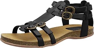 Kickers Womens Ana Open Toe Sandals, Black (Noir 8), 5 UK
