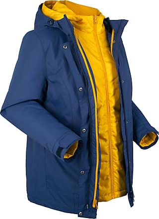6ddc752be7e Bonprix Bonprix - Veste outdoor fonctionnelle 3 en 1 bleu manches longues  pour femme