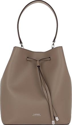 Lauren Ralph Lauren Bucket Bags - Debby Medium Drawstring Bag Taupe/Porcini - beige - Bucket Bags for ladies