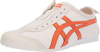 Onitsuka Tiger ASICS - Mens Onitsuka Tiger Mexico 66 Slip-On Shoes, 8 UK, White/White