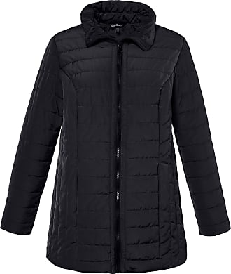 Ulla Popken Womens Plus Size Warm All Weather Quilted Jacket Marine 20/22 712497 71-46+