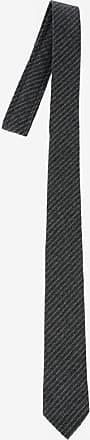 Thom Browne Cravatta in Lana a Righe 6cm taglia Unica
