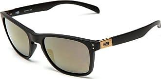 HB Óculos de Sol Hb Gipps ll 9013800189/55 Preto Fosco Espelhado Gold