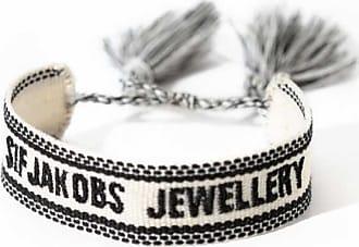 Sif Jakobs Jewellery Bracelet SIF JAKOBS JEWELLERY WEBBING BRACELET WHITE