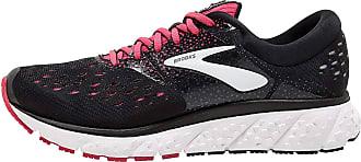 Brooks Womens Glycerin 16 Running Shoes, Multicolour (Black/Pink/Grey 070), 4.5 UK