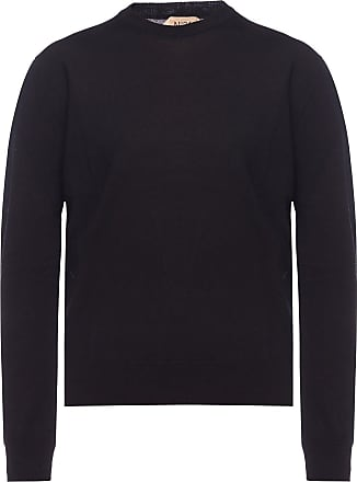 N°21 Logo-embroidered Sweater Womens Black