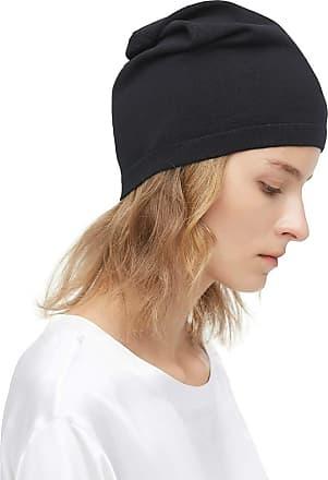 LilySilk Pure Silk Beanie Cap Hat Slouchy Silk-Lined Sleeping Beanie Hat   Premium Quality Headwear Gifts for Frizzy Hair   Ultra Soft & Smooth Natural Breatha