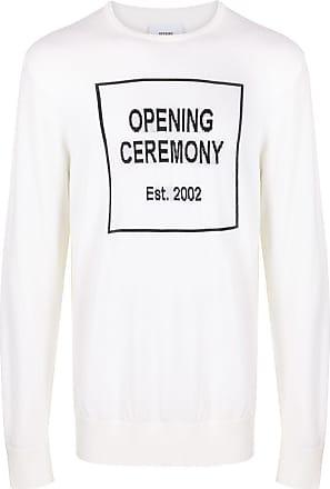 Opening Ceremony Suéter com logo - Branco