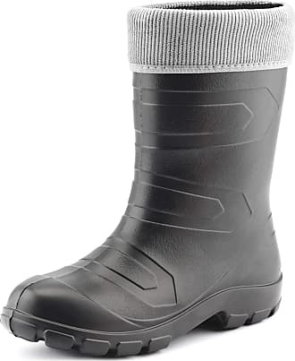 Ladeheid Womens EVA Thermo Extra Light Wellington Boots Rainy Wellies Rain Boots LALMG879 (Graphite/Grey, 3.5 UK)