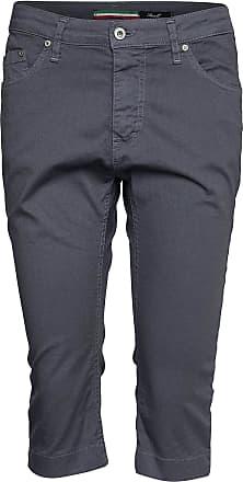 Please Jeans 3B Classic Cotton Gold Button Vit