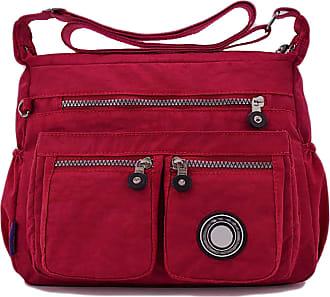 GFM Womens Nylon Waterproof Cross Body Shoulder Bag (S1-171-GHFSH)