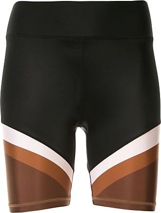 The Upside colour block spin shorts - Black