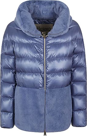 Herno Fashion Woman PI1123D120179075 Blue Polyester Down Jacket | Fall Winter 20