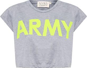 N.Y.B.D. Camiseta Army Mescla - Cinza