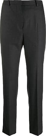 Incotex high-waisted slim-fit trousers - Grey