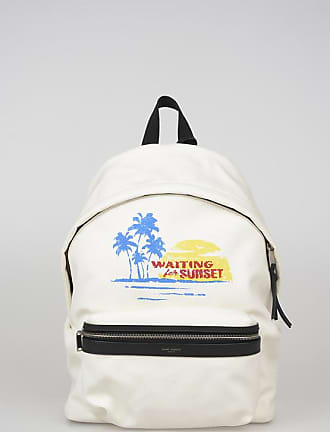 Saint Laurent Printed Canvas Backpack size Unica
