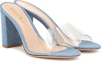 Gianvito Rossi Exclusive to Mytheresa - Vivienne 85 denim sandals