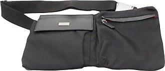 f2402656fc5 Gucci Sherry Web Fanny Pack Waist Pouch 868544 Black Nylon Cross Body Bag