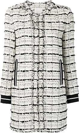 Pinko tweed coat - White