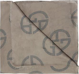 Giorgio Armani Logo Scarf Mens Beige