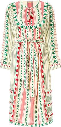 Dodo Bar Or Vestido com bordado - Estampado