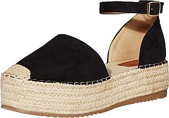 Yoki Womens SUE Flat Sandal, Black, 5.5 UK