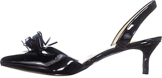 Katy Perry Womens The Lisa Pointed Toe Slingback Classic Pumps, Black, Size 5.5 US