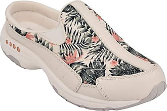 Easy Spirit Travel Time Womens Slip On 8.5 C/D US Cream-Coral-Floral