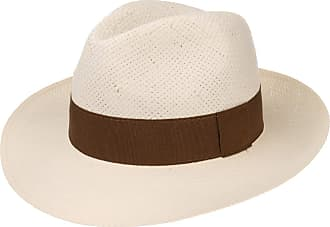 LIPODO Palermo Straw Hat (Fedora) with Grosgrain Ribbon  fdf1b6039307