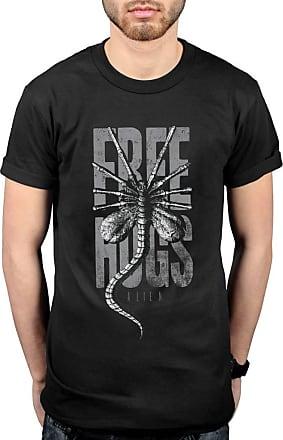 AWDIP Official Alien Free Hugs T-Shirt Black