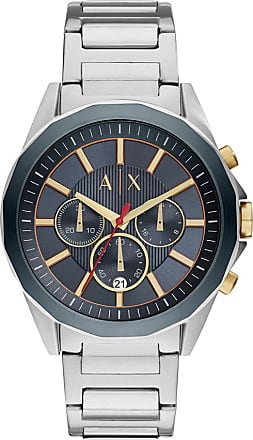 A|X Armani Exchange Relógio Quartz Drexler - Homem - Prateado - Único IT