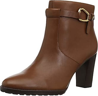 82b4ece3ce Ralph Lauren Lauren Ralph Lauren Womens LALETTA Ankle Boot, Light Beige, 8  B US
