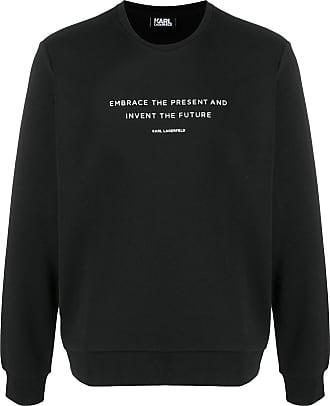 Karl Lagerfeld Moletom com estampa - Preto