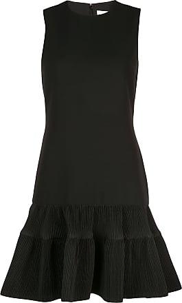 Victoria Beckham fitted peplum dress - Black