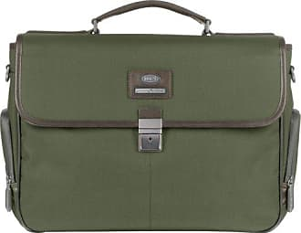 Bric's Luggage Pininfarina Briefcase, Olive, One Size