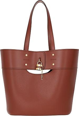 Chloé Tote Bag Sepia Brown Shopper braun