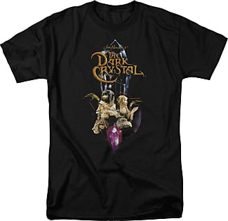 Popfunk Dark Crystal Crystal Quest Unisex Adult T Shirt for Men and Women Black