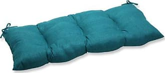 Pillow Perfect Indoor/Outdoor Rave Teal Swing/Bench Cushion