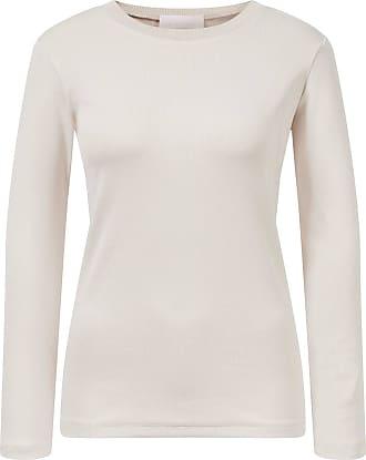 Fabiana Filippi Baumwoll T-Shirt aus Rippstrick Rosé