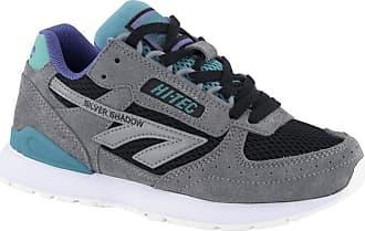 Hi-Tec Sneakers Silver Shadow Frost Grey/Teal/Purple Size: 9.5 UK