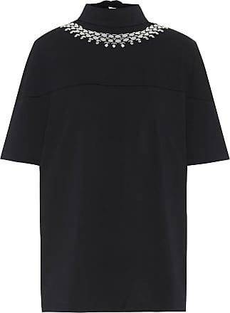 Christopher Kane Crystal-embellished cotton top