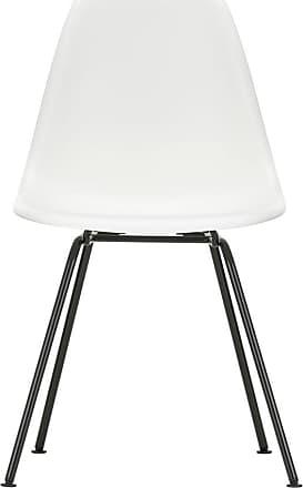 Vitra DSX Plastic Side Chair Dark Base