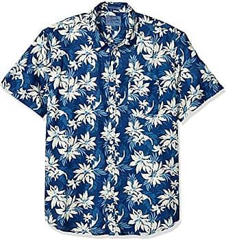Lucky Brand Mens Woven Floral Ballona Shirt