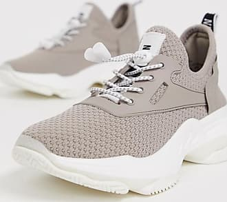 Steve Madden Match taupe chunky trainers-Beige
