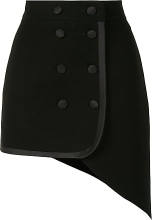 George Keburia fitted double-breasted skirt - Preto