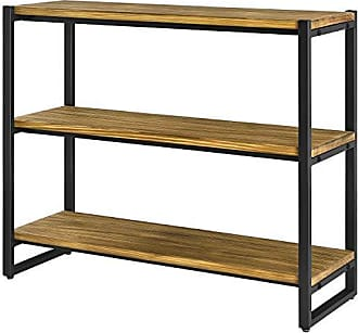 New Pacific Direct 9300060 Anderson 3 Tier Bookcase, One Size, Brown