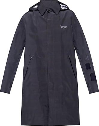 Undercover Printed Coat Mens Black
