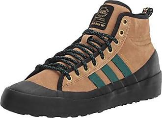 newest 63d34 26d93 adidas Originals Mens Matchcourt High RX3 Running Shoe raw Desert Noble  Green Black 8.5